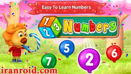 ۱۲۳Numbers – Count & Tracing