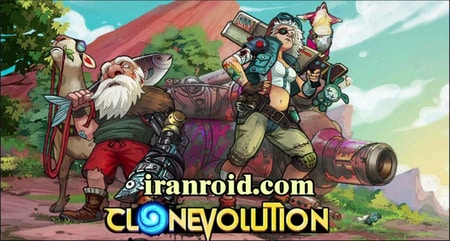 Clone Evolution: RPG Battle تکامل کلون