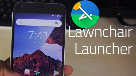 لانچر Lawnchair Launcher